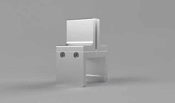 Cubicle Panel Extender Bracket