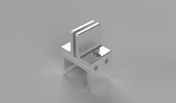 Clamping Panel Extender for Plexiglas