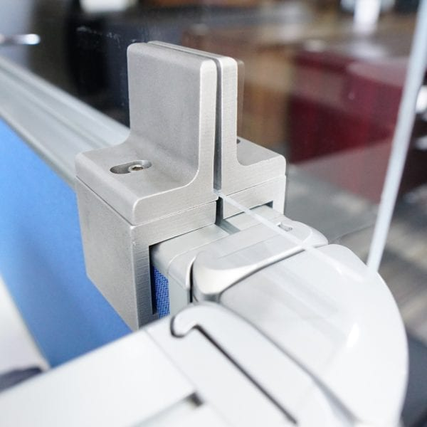 Raise Cubicle height with these brackets