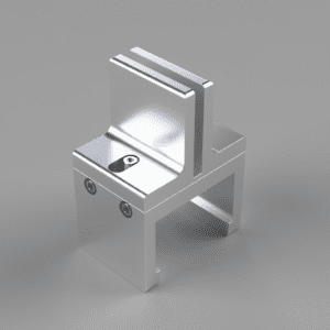 Metal Bracket for Cubicle Panel Extensions