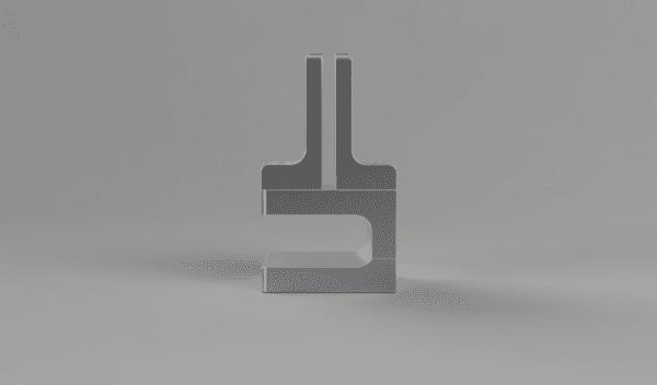 Adjustable Desk Edge Bracket