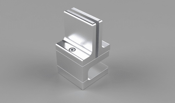 Metal Bracket for holding Acrylic Panel