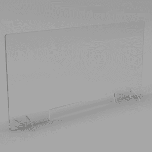 "Discount 1/4"" Acrylic Sneeze Guard Panel"