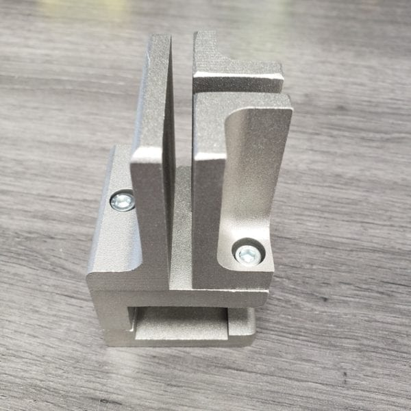 Desk Clamp for Acrylic Sheet 3 Way
