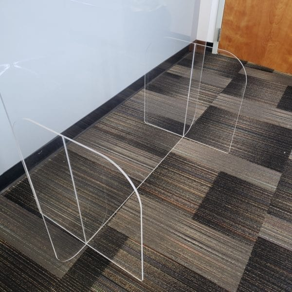 Clear Room Divider Panel