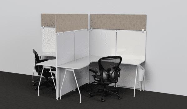 Acoustic Cubicle Panel Extender