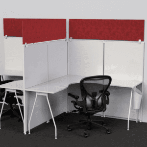 Privacy Cubicle Panel Extender