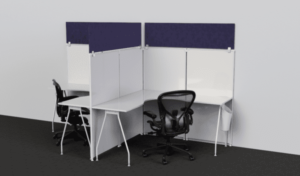 Privacy Cubicle Panel Extenders