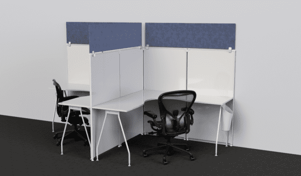 Sneeze Guards for Cubicles